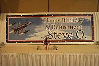Steve O's  65th birthday/retirement party